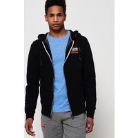 Superdry International Monochrome Zip Hoodie