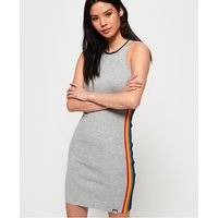 Superdry Sporty Taped Ribbed Dress