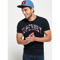 Superdry Camo Embossed T-shirt