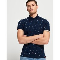 Superdry City State Embroidery Polo Shirt