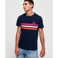 Superdry Orange Label Fluro Chest Band T-Shirt