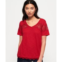 Superdry Lizzie Lace Insert T-shirt