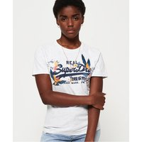 Superdry Camiseta con logo Vintage bordado en relieve