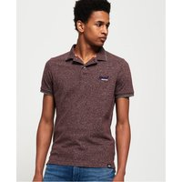 Superdry Orange Label Jersey Polo Shirt
