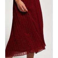 Superdry Pleated Midi Skirt