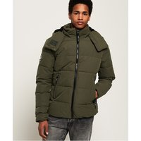 Superdry Microfibre Classic Tri Racing Puffer Jacket