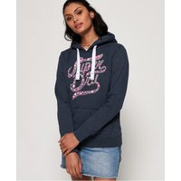 Superdry Stacker Floral Infill Hoodie