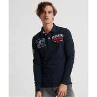 Superdry Superstate Classic Long Sleeved Polo Shirt
