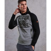 Superdry Gym Tech Embossed Print Hoodie