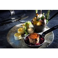 Five Course Meal with a Bottle of Champagne at Chez Maw Restaurant - Champagne Gifts