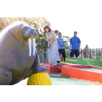 Entry for Two Adults and Two Children to Plonk Crazy Golf - Golf Gifts