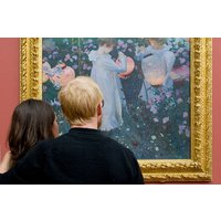 Private Tour of Tate Gallery with Onsite Three Course Dinner and Champagne for Two
