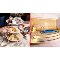 Spa Day and Afternoon Tea with Treatment at The May Fair Hot