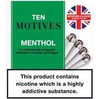 10 Motives Refills Menthol 11mg