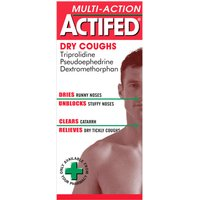 Actifed Mult-Action Dry 100ml