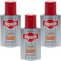 Alpecin Tuning Shampoo 200ml - Triple Pack