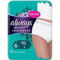 Always Discreet Pants For Sensitive Bladder Large