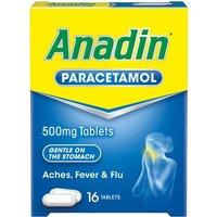 Anadin Paracetamol Tablets