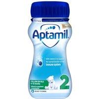 Aptamil 2 Follow On Baby Milk Formula Liquid 6-12 Months