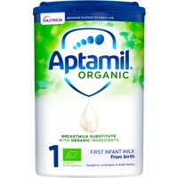 Aptamil Organic 1 First Baby Milk Formula From Birth