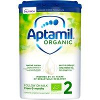 Aptamil Organic 2 Follow On Baby Milk Formula Powder 6-12 Months
