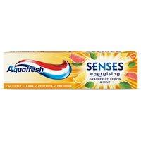 Aquafresh Senses Energising Grapefruit Lemon & Mint Toothpaste