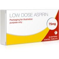 Aspirin Enteric Coated 75mg Tablets (Low Dose Aspirin)