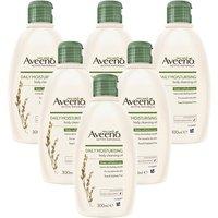 Aveeno Oil Bath & Shower Oil 300ml x 6