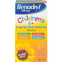 Benadryl Child Allergy Solution 70ml