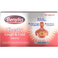 Benylin Chesty Cough   Cold Tablets