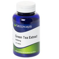 Bioconcepts Green Tea Extract Tablets 1000mg