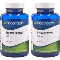 Bioconcepts Resveratol 200mg - 120 Capsules