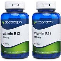 Bioconcepts Vitamin B12 500ug 120's