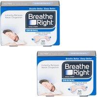 Breath Right Nasal S/M Tan- 60 Strips
