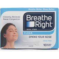 Breathe Right Nasal Strips Clear Small/Medium - 80 Strips