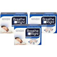 Breathe Right Nasal Strips Tan Large Triple