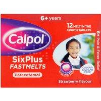 Calpol SixPlus Fastmelts
