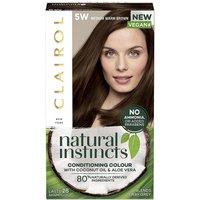 Clairol Natural Instincts Hair Dye 5W Medium Warm Brown