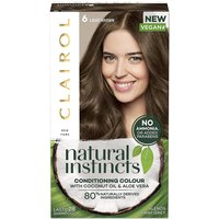 Clairol Natural Instincts Hair Dye 6 Light Brown