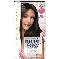 Clairol Nice 'n Easy Brown Black Permanent Hair Colour 3
