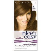 Clairol Nice 'n Easy No Ammonia Hair Dye Light Golden Brown 76