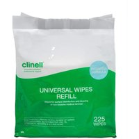 Clinell Universal Cleaning and Surface Disinfection Wipes Refill