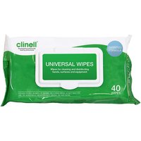 Clinell Universal Cleaning and Surface Disinfection Wipes