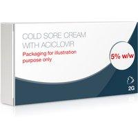 Cold Sore Cream Tube With Aciclovir 5%
