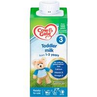 Cow & Gate 3 Toddler Milk Formula Liquid 1-3 Years 200ml