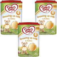 Cow & Gate Growing Up Milk 2-3 Years - Triple Pack