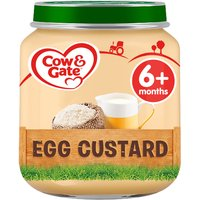 Cow & Gate Egg Custard Jar