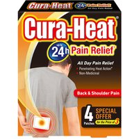 Cura Heat Back Pain 3+1