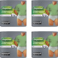 Depend Underwear Male Large  Extra Large 9 s