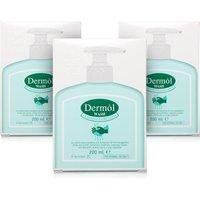 Dermol Wash Emulsion - 3 Pack